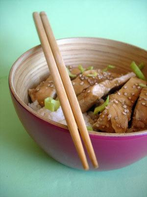 Filets de poulet - teriyaki - cleacuisine.fr